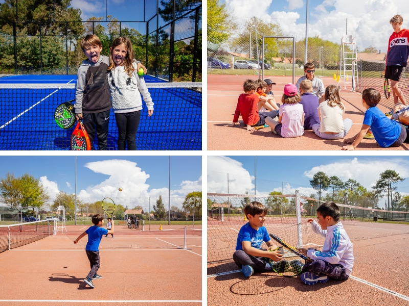 Tennis enfants Biscarrosse