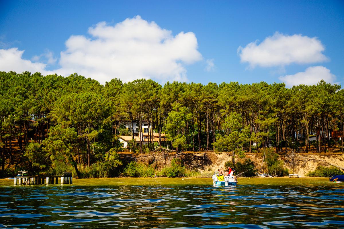 Une journ e en bateau sur le lac de biscarrosse sanguinet office de tourisme des grands lacs - Office du tourisme biscarrosse plage ...