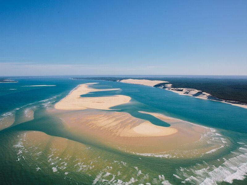 Biscarrosse Sanguinet Et Les Grands Lacs Les Vacances A Velo