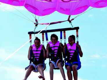 Parachute maguide bisca